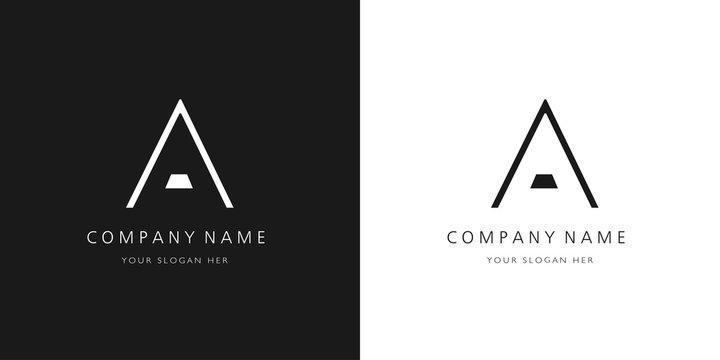 A logo letter design