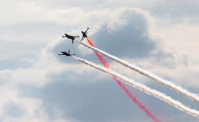 Flight acrobatic group