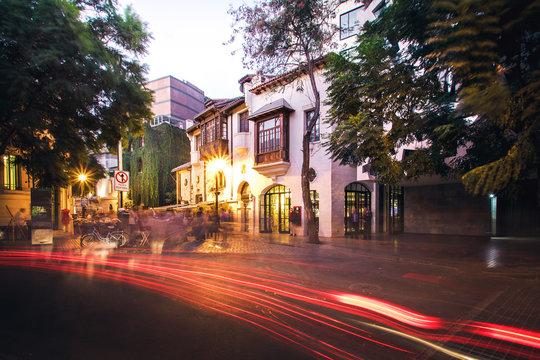 Lastarria neighborhood - Santiago, Chile