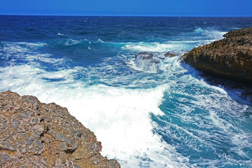 Curacao North Shore Waves