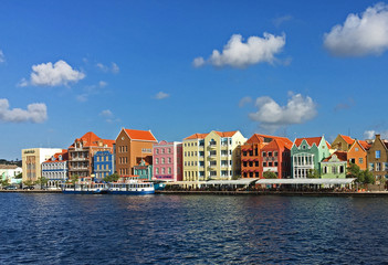 Waterfront of Punda Willemstad Curacao