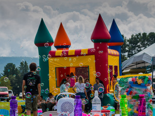 Festival with kids