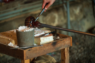 Glass Blowing in Historic Barn at Cuyahoga Valley National Park