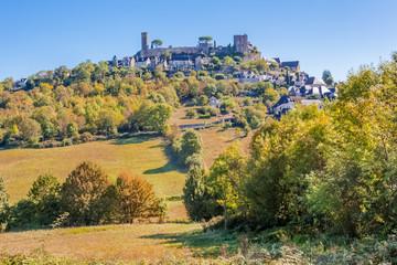 village perché de Turenne en Corrèze, France