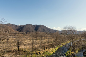 安曇野 犀川