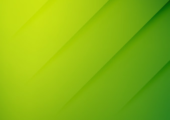 Abstract green vector background with stripes Fototapete