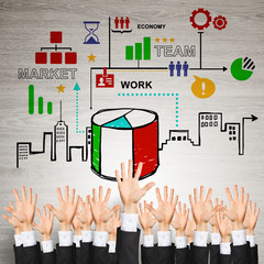 Business and teamwork concept