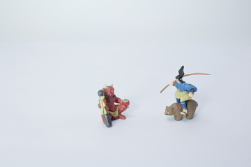 a mini of figure of  traditional story