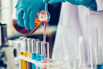 laboratory research concept