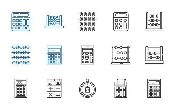 count icons set