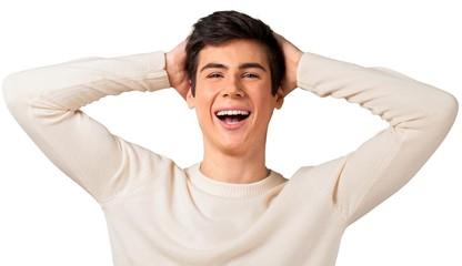 Fototapeta premium szczęśliwa młoda nastolatka