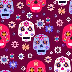 Skull pattern7
