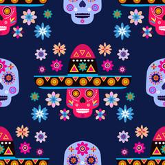Skull pattern16