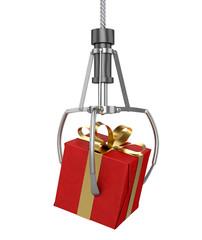 Machine Claw Grabbing Gift