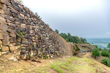 鬼ノ城の城壁