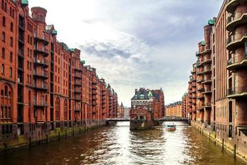 Germany, Hamburg, Old warehouse district