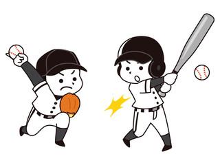 野球選手の男性