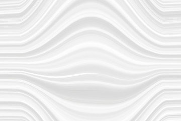 The white texture of the stripes with the effect of 3D, the line of gray light color. Art background for wallpaper pattern and packaging in modern style.