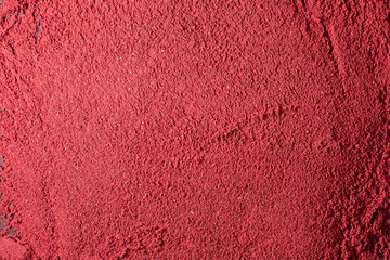red powder beauty makeup compound texture pattern for background