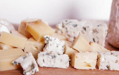 blue cheeses, nuts, grapes