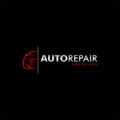 Obraz Car logo icon with modern style - fototapety do salonu