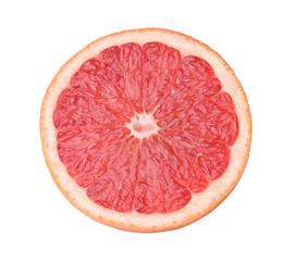 Poster Vruchten Halbe Grapefruit frontal