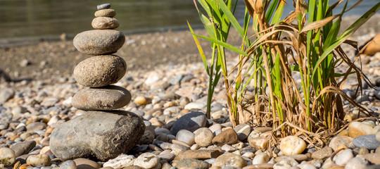 Balance der Steine