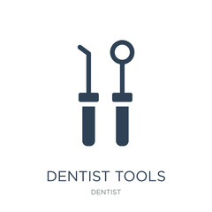 dentist tools icon vector on white background, dentist tools tre