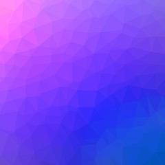 Polygonal Abstract Background Template. Colorful Banner Template.