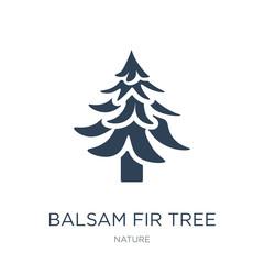 Obraz balsam fir tree icon vector on white background, balsam fir tree - fototapety do salonu