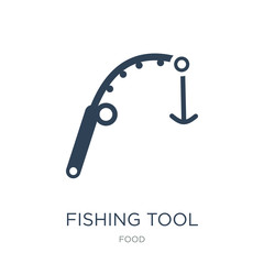 fishing tool icon vector on white background, fishing tool trend
