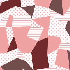 80s and 90s retro style. The Memphis pattern. Trending abstract design with geometric shapes