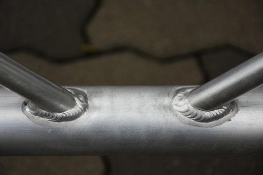 detail welding, metal scaffolding