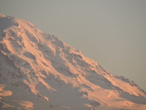 Sunset on Mt Rainier, Washington 04