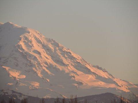 Sunset on Mt Rainier, Washington 03