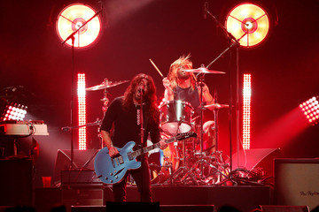 Foo Fighters performs during the I Am The Highway: A Tribute to Chris Cornell concert at The Forum in Inglewood