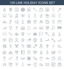 100 holiday icons