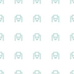 tank icon pattern seamless white background