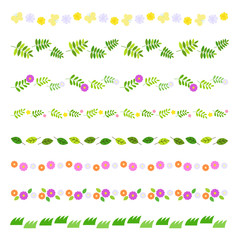 Spring decoration line set