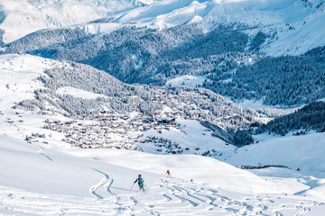 Arosa from above