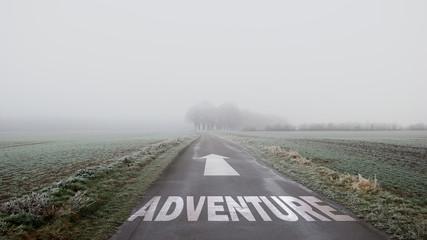 Sign 402 - Adventure