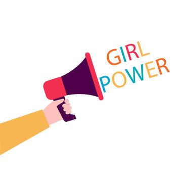 Illustration Girl Power