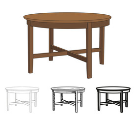 isolated table, table outfit