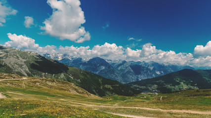 Mountains at the tyrolean Alps