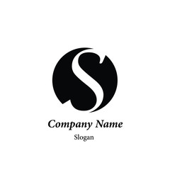 "Modern vector logo of character ""C"""