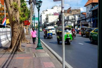 バンコク 歩道