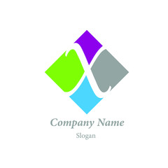 "Modern vector logo of character ""X"""