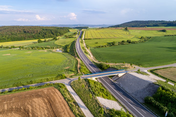stretch of the autobahn