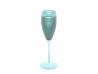 Weinglas mit Flüssigkeit