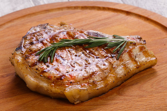 Pork loin with rosemary